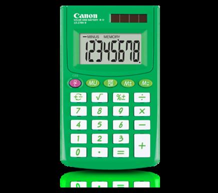 Canon Calculator LS 270 II (SPRING GREEN)
