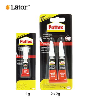 Lator Pattex Super Glue Stick 2G x2