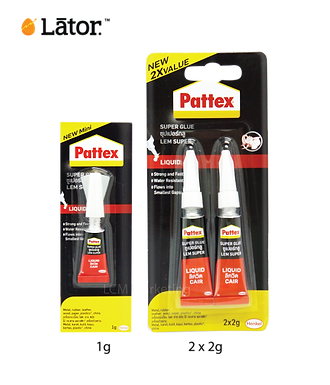 Lator Pattax super Glue 1G x 12
