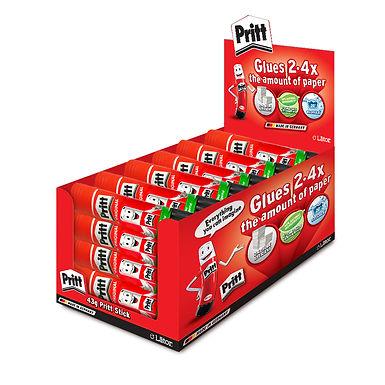 Lator Pritt Glue Stick 43g- Value Pack 24 pcs