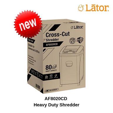Lator Auto Feed Shredder AF8020CD