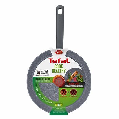 Tefal Cook Healthy Wokpan 28cm w/lid (IH) G13416