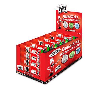 Lator Pritt Glue Stick 11g- Value Pack 24 pcs