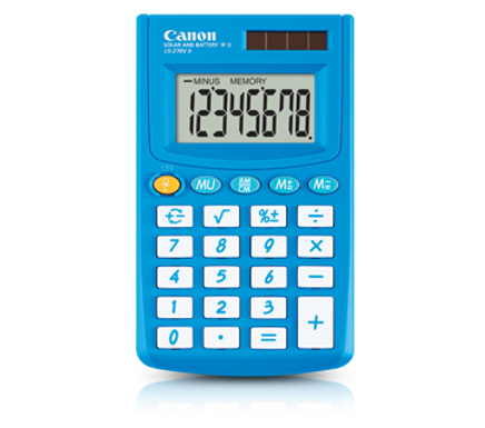 Canon Calculator LS 270 II WINTER BLUE)