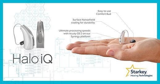 dzirdes aparāti ar smartfonu Halo iQ