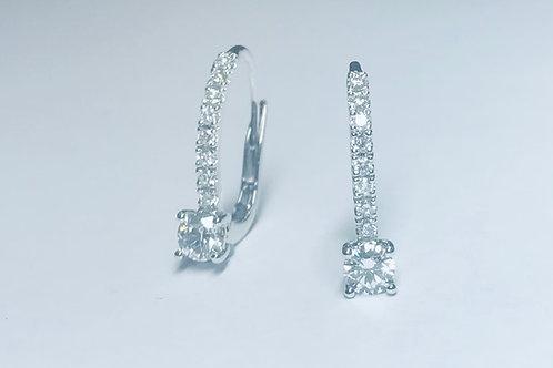 Diamond Ear Wires