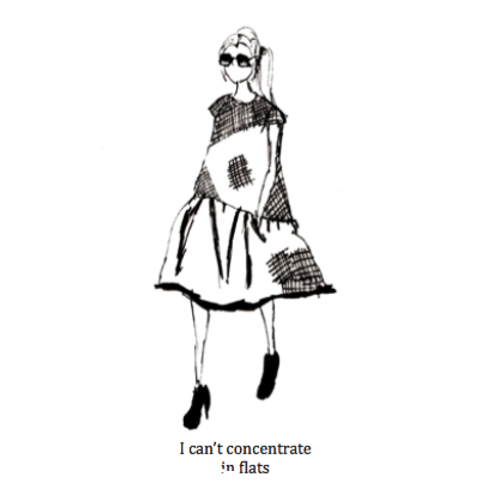 I cant concentrate in flats