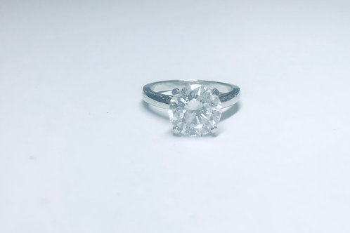 3.53ct Round Diamond Ring