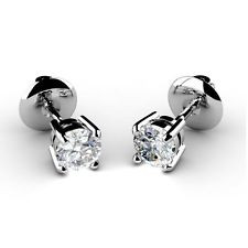 Diamond Stud Earrings Second Hand High Quality Refinished As New A Clic Beautiful Pair Of Half Carat Total Weight