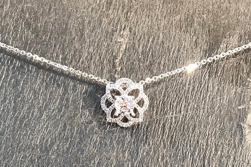 Diamond Necklace 0.73ct