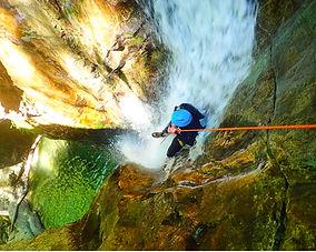 rappel-toboggan-canyoning-écouges-vercor