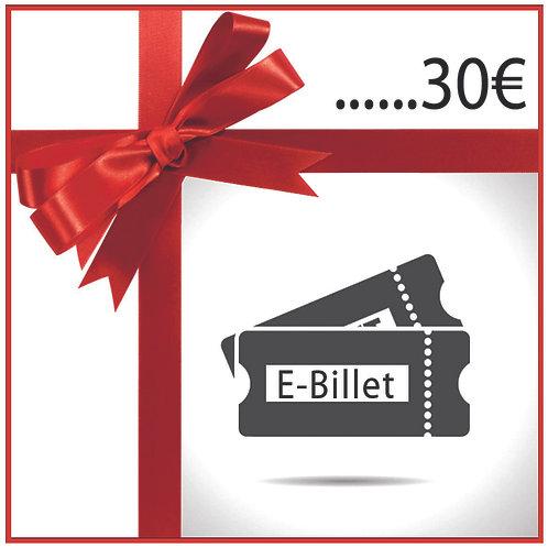 E-Billet 30€