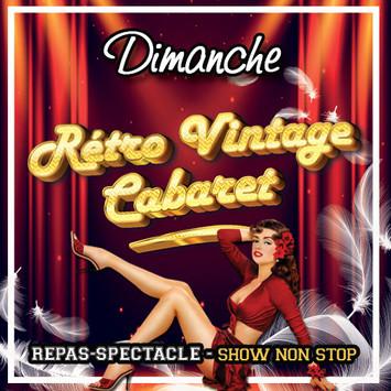 Dimanche - Rétro Vintage Cabaret