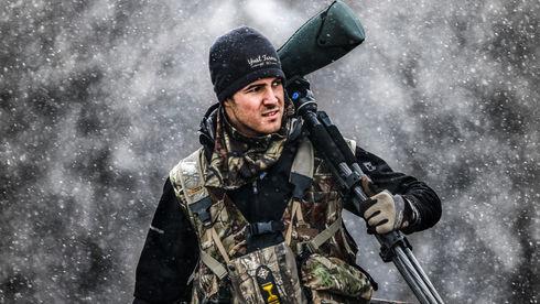 A hunter in Kansas