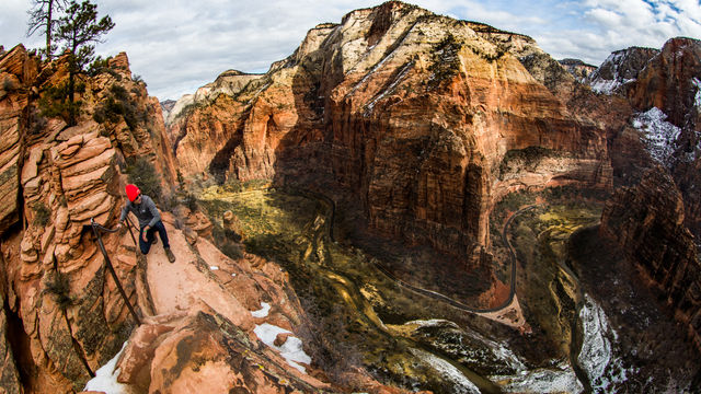 Angels Landing in Zion National Park