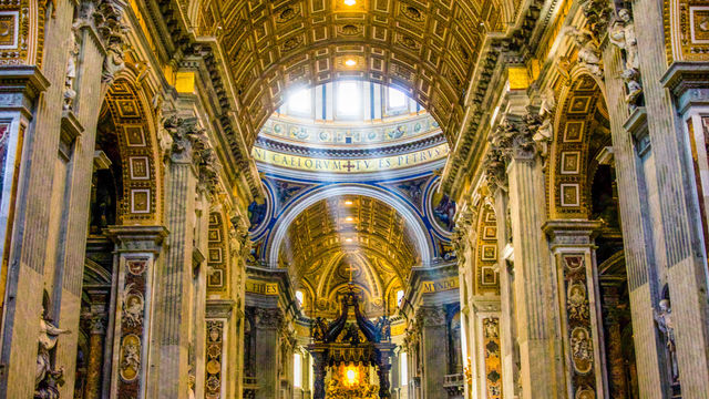 St. Peters Basilica in the Vatican