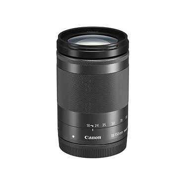 Canon EF-M 18-150mm f/3.5-6.3 IS STM - Preta/Prata