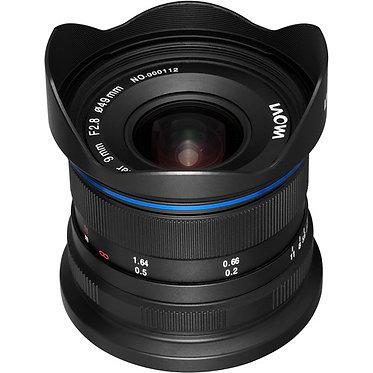 Laowa 9mm f/2.8 Zero-D para Nikon/Sony/Canon