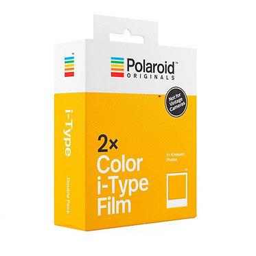 Polaroid Originals Colour Film i-Type (Pack duplo)
