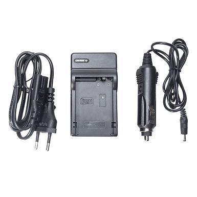 Carregador p/ Baterias Canon BP-911 e compatíveis