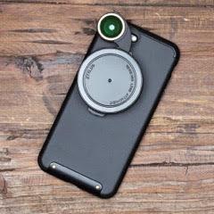 Ztylus para iphone 7/7plus com revolver 4 lentes