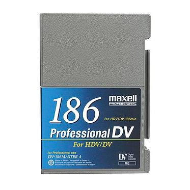 Maxell PROFESSIONAL HDV /DV 186m