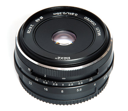 Meike 28mm f2.8 Micro 4/3