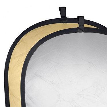 Walimex Reflector Prata/Dourado 145x200cm