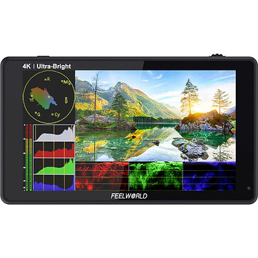 "FeelWorld LUT6 6"" 4K HDMI - Touchscreen Monitor"