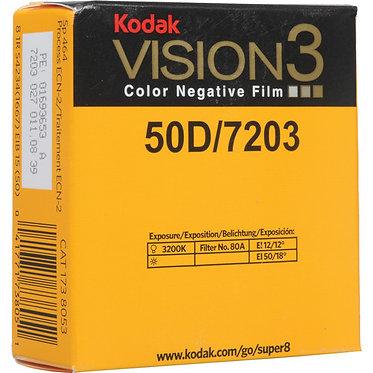 KODAK  Super 8 Vision3 - 50D/7203