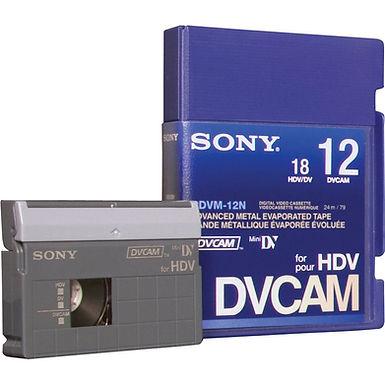 Sony DVCAM HDV MiniDV- 12m