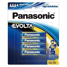 Panasonic AAA Evolta 4x