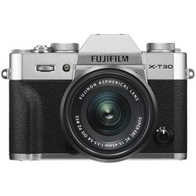Fujifilm X-T30 + XF 15-45mm (Silver/Black/Charcoal)
