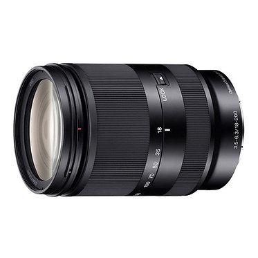 Sony E 18-200 mm F3.5–6.3 OSS LE