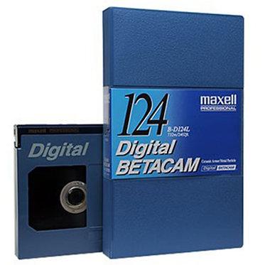 Maxell Digital Betacam -  124m