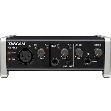 Tascam US-1x2 Interface Audio USB