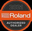 Roland 2021 Authorized Dealer Logo 250px