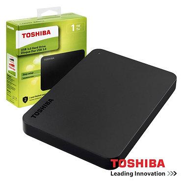 "Toshiba Disco Externo HDD Canvio Basics 1TB 2.5"" USB3.0"