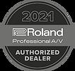 Roland Pro AV 2021 Authorized Dealer Log