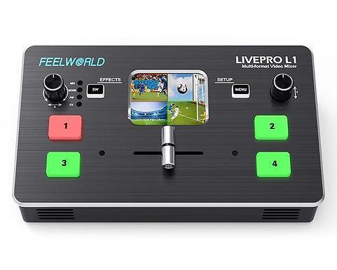 Feelworld LIVEPRO L1 - Multi-format Video Mixer Switcher