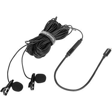 Saramonic microfone de lapela Dual LavMicro U1C - Lightning