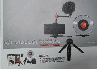 Rotolight Video Vlogging Kit p/ Smartphone