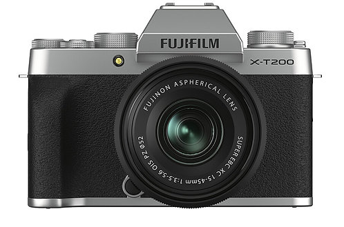 Fujifilm X-T200 + 15-45mm f 3.5-5.6 - kit (Gold/Silver/Anthracite)