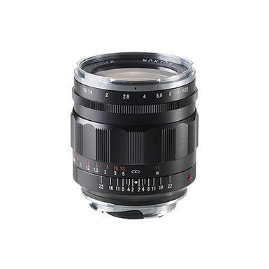 Voigtländer Nokton 35mm f/1.2 II Black
