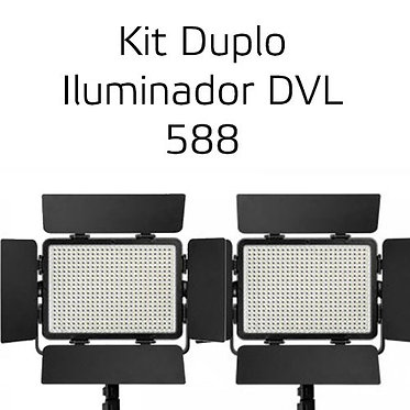 Brilliant Iluminador LED DVL 588 Kit Duplo