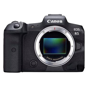 Canon EOS R5 - corpo