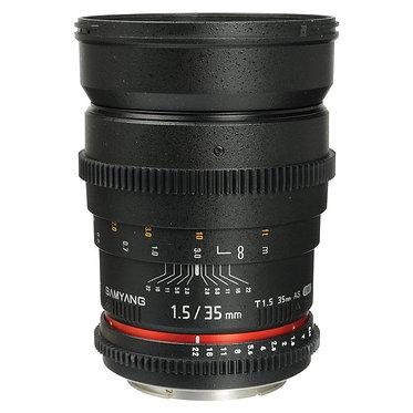 Samyang 35mm T1.5 VDSLR