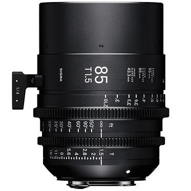 Sigma Cine 85mm T1.5