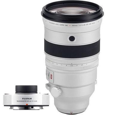 Fujifilm XF 200mm F2 R LM OIS WR + XF1.4X TC WR