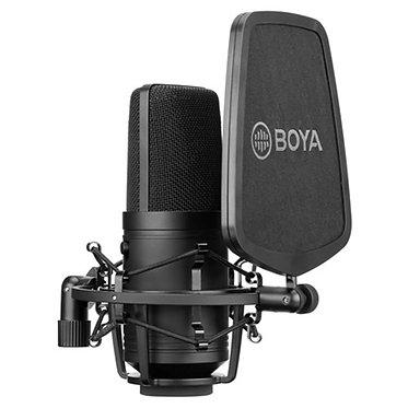 BOYA BY-M800 Microfone Estúdio Condensador Cardioide